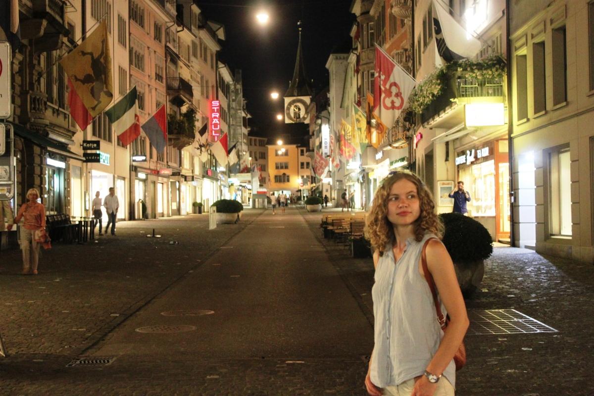 Rok w Zurychu